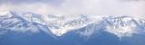 Panorama of the mountain range