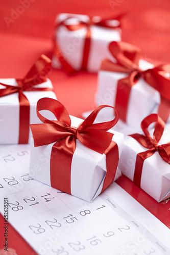 obraz PCV presents for Valentine day