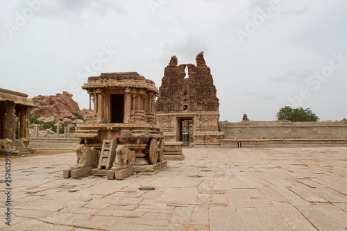 Virupaksha Temple ruins, Hampi, Karnataka, India