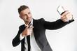 Leinwanddruck Bild - Handsome confident businessman