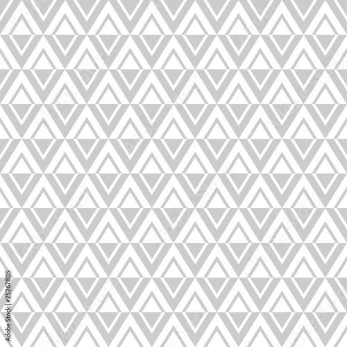 obraz lub plakat Seamless diamonds pattern. Geometric texture.