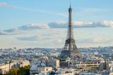 Fototapeta Wieża Eiffla - eiffel tour and Paris cityscape © neirfy