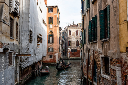 mata magnetyczna canal in venice