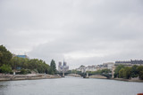 Fototapeta Paryż - historic buildings in paris on the river seine © dyachenkopro