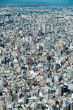 Tokyo high dense houses and buildings