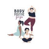Body positive yoga concept - 252869170