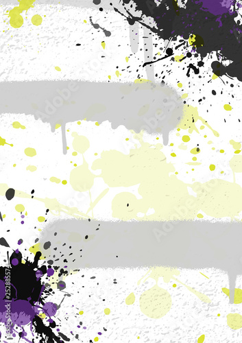 Abstract graffiti background. Backdrop for your design. Vector illustration