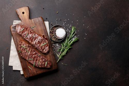 Leinwandbild Motiv Top blade or denver steak