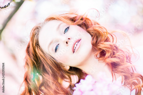redhair beauty  - 252930164