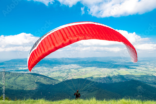 Start of paraglider © fotoyou