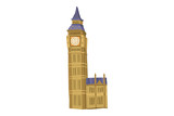 Fototapeta Big Ben - Travel, Vacation, And Passion © Preferago