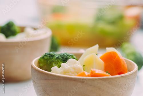 Healthy food. Vegetable mix. Studio Photo - 253001593