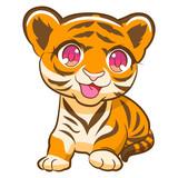 tiger vector cartoon