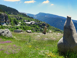 View to village Peyresq