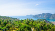 Leinwanddruck Bild - phi phi island andaman sea point view