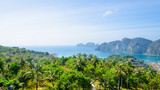 phi phi island andaman sea point view