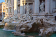 Fountain de Trevi in Rome.