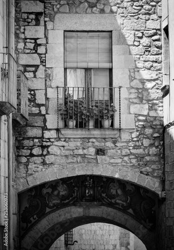 One window in Girona Town