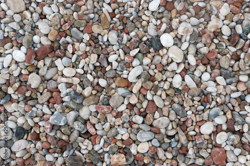 Sea stones background - 253079549