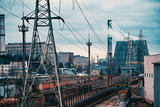 skyline factory areas