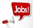 jobs word and megaphone