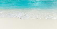 "Постер, картина, фотообои "" Maldives island with white sandy beach and sea"""