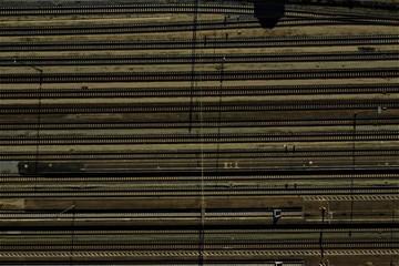 Zuggleise von oben © Roman
