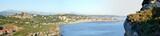 Panorama of Comillas, Cantabria