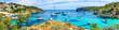 Leinwanddruck Bild - Beach of Mallorca portal vells