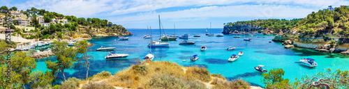 Leinwanddruck Bild Beach of Mallorca portal vells