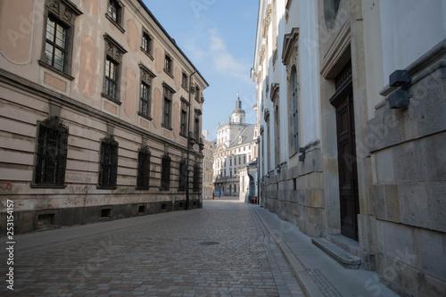 obraz PCV Stare Miasto we Wrocławiu. Polska Europa