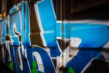 """Постер, картина, фотообои """"Graffiti Art on Boxcar"""""""