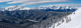 Fototapeta Do pokoju - Panoramic View Looking Toward Breckenridge from Keystone's South Bowl in Colorado © Charlie