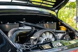 Vintage Porsche Engine boot open outdoor