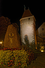 Tour d'enceinte, Obernai, Bas-Rhin, Alsace, Grand Est, France