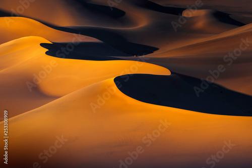 Sunset Over Ibex Dunes in Death Valley, CA © dfikar