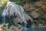 Blue Waterfall in Lamphun, Thailand