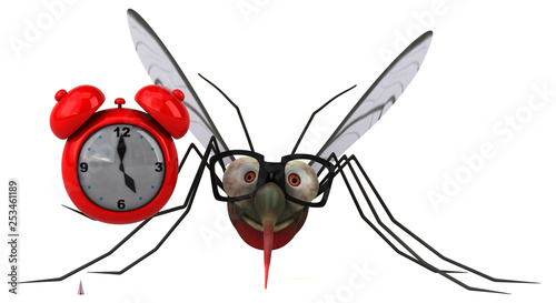 Mosquito - 3D Illustration - 253461189