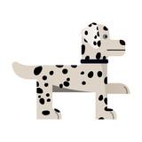 Dalmatian stand.