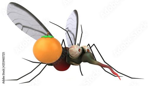 Mosquito - 3D Illustration - 253463725