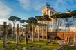 Quadro Vittoriano monument building in Rome