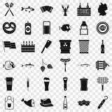 Oktoberfest icons set. Simple style of 36 oktoberfest vector icons for web for any design