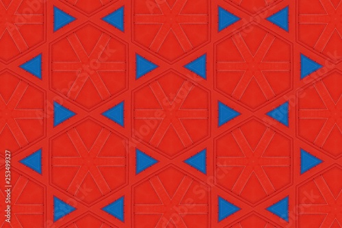 mata magnetyczna red abstract background pattern