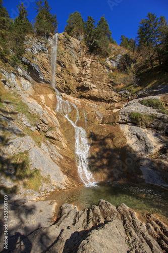 Wasserfall Zipfelsbach im Allgäu, Deutschland © Adrian72