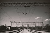 Electricity Installations Over Railway