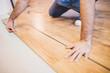 Laying laminate - locking panels - floating floor