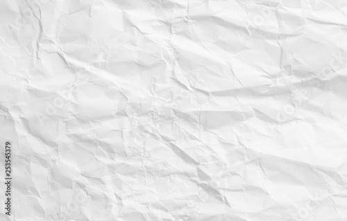 white crumple paper background