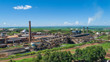 Sugarcane plant producing renewable energy. Ethanol. - 253553358