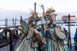 Costumed couple during Carnival in Venice