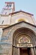canvas print picture - Kirche Saint Etienne in Nizza, Frankreich